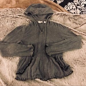 Anthropology Hoodie | Grey | ADORABLE! | Small